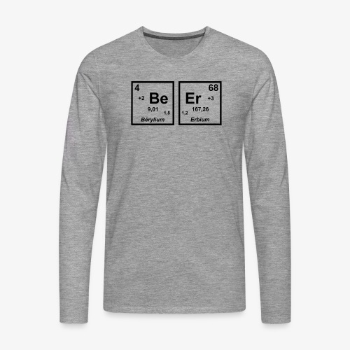 BEER - Men's Premium Longsleeve Shirt