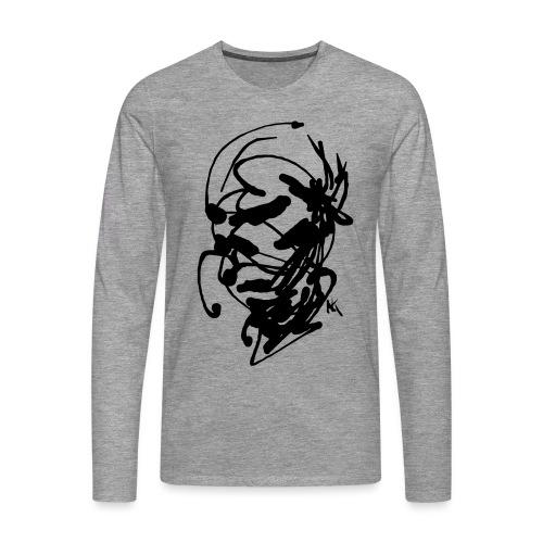 face - Men's Premium Longsleeve Shirt