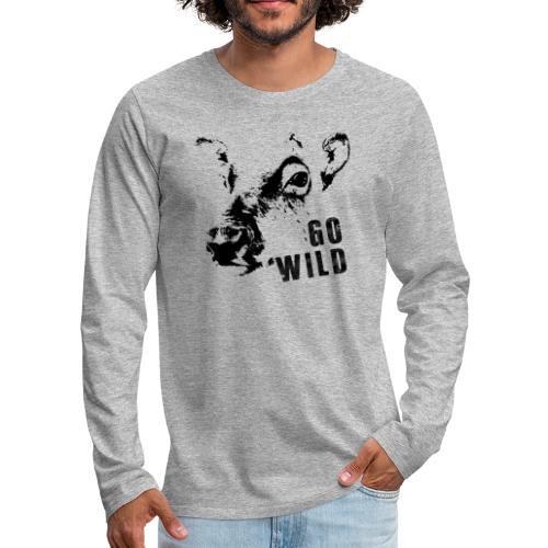 Go Wild - Männer Premium Langarmshirt
