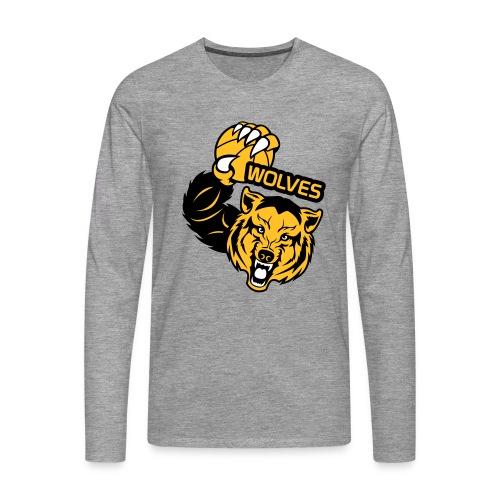 Wolves Basketball - T-shirt manches longues Premium Homme