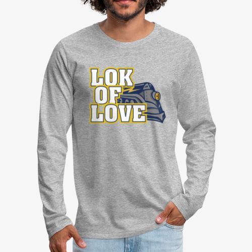 LOK OF LOVE 1 - Männer Premium Langarmshirt