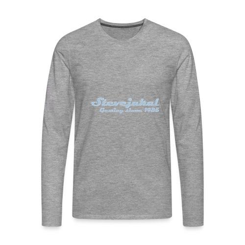 Stevejakal Merchandise - Männer Premium Langarmshirt