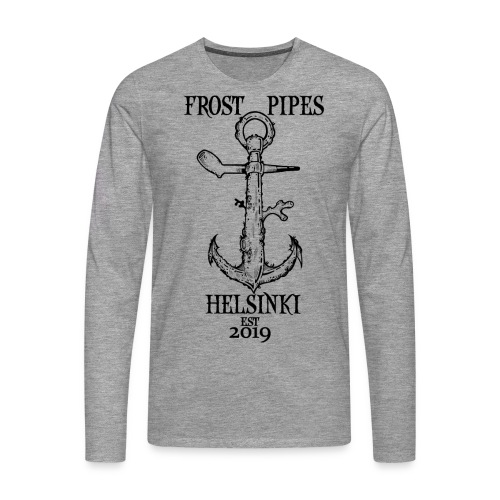 Frost Pipes Anchor - Men's Premium Longsleeve Shirt