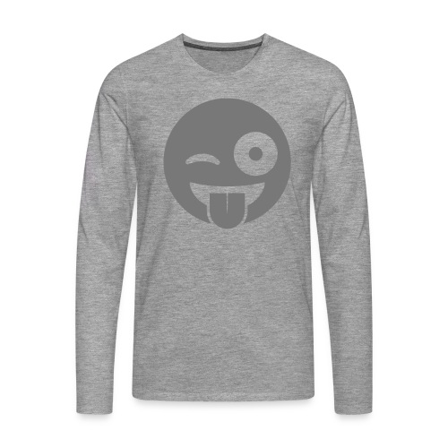 Emoji - Männer Premium Langarmshirt