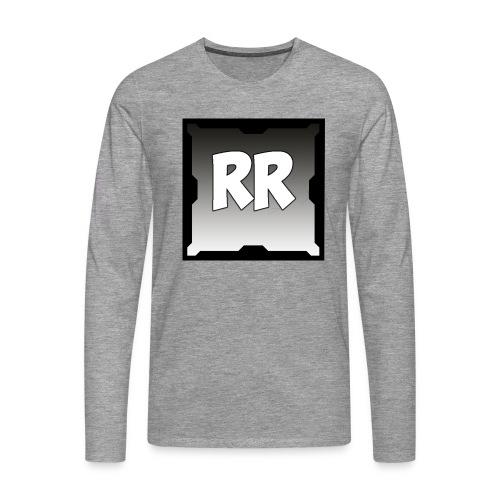 Rixel Simpel - Långärmad premium-T-shirt herr