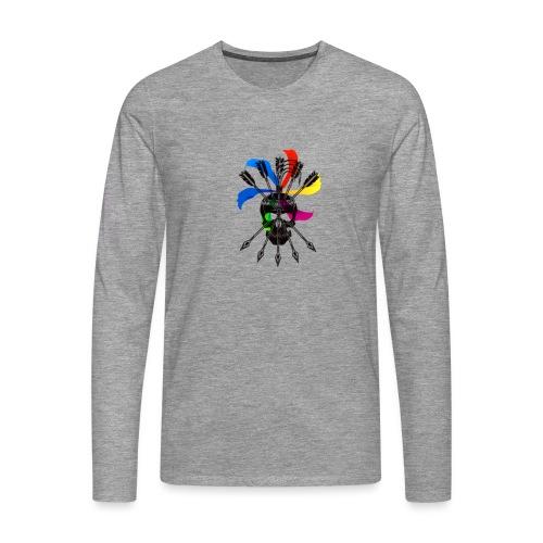 Blaky corporation - Camiseta de manga larga premium hombre