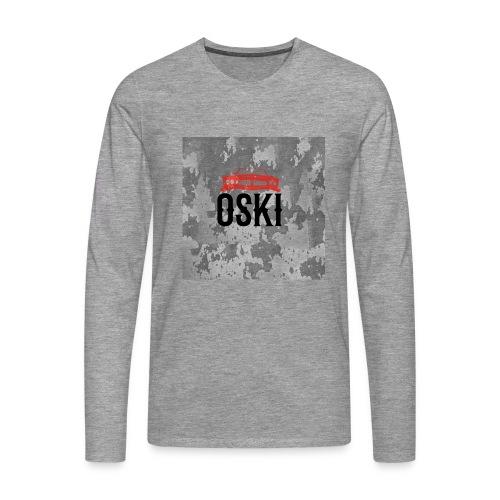 Osky - Camiseta de manga larga premium hombre