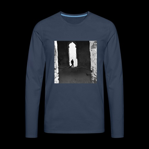 Misted Afterthought - Men's Premium Longsleeve Shirt