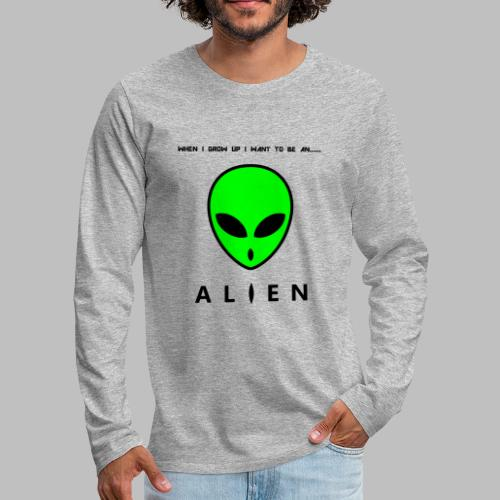 Alien - Men's Premium Longsleeve Shirt