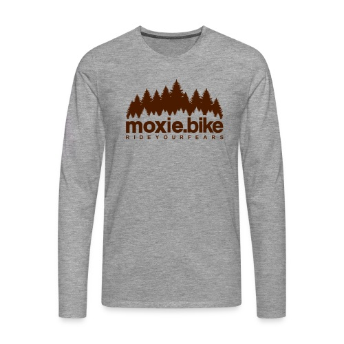 moxie.bike rideyourfears - Men's Premium Longsleeve Shirt