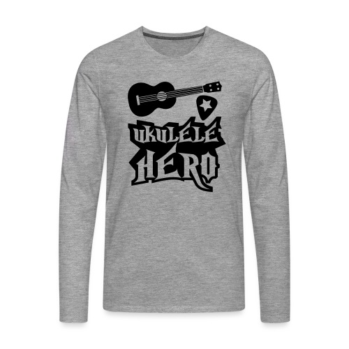 Ukelele Hero - Men's Premium Longsleeve Shirt