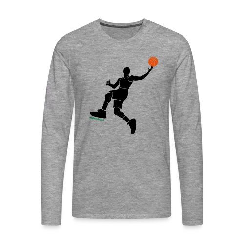 slamdunk_ball - Maglietta Premium a manica lunga da uomo