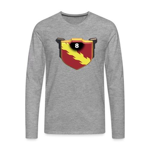 ESCUDO-01 - Camiseta de manga larga premium hombre