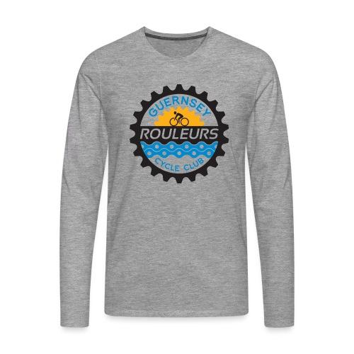 Guernsey Rouleurs Logo - Men's Premium Longsleeve Shirt