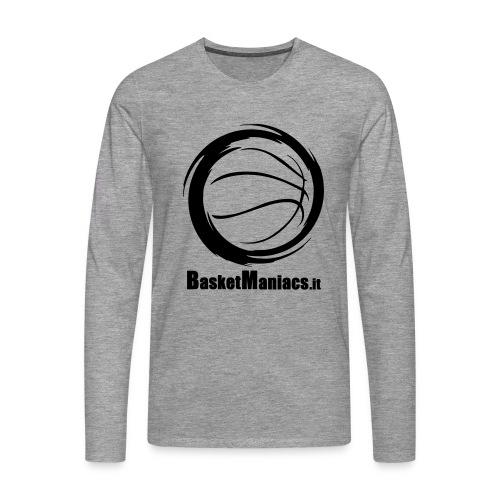 Basket Maniacs - Maglietta Premium a manica lunga da uomo