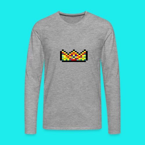 Crowntogo logo ohneshjcbdkyjfh png - Männer Premium Langarmshirt
