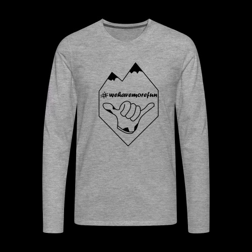 Madabe Logo Shirt 2 - Männer Premium Langarmshirt