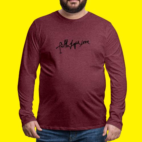Faith Hope Love - Men's Premium Longsleeve Shirt