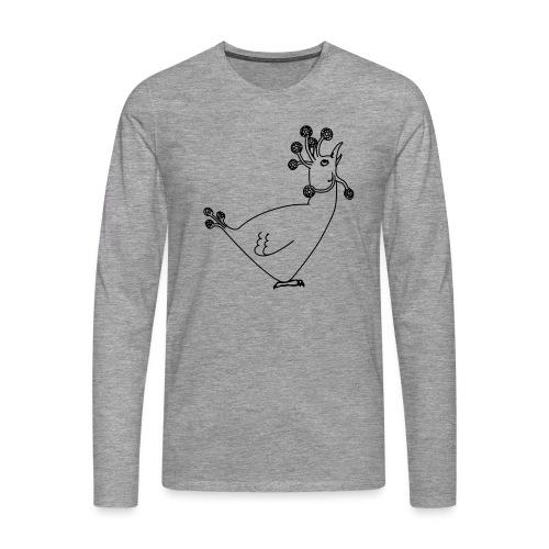 Cosmic Chicken - Men's Premium Longsleeve Shirt