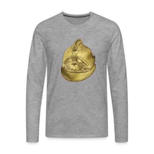 Casque pompier - T-shirt manches longues Premium Homme