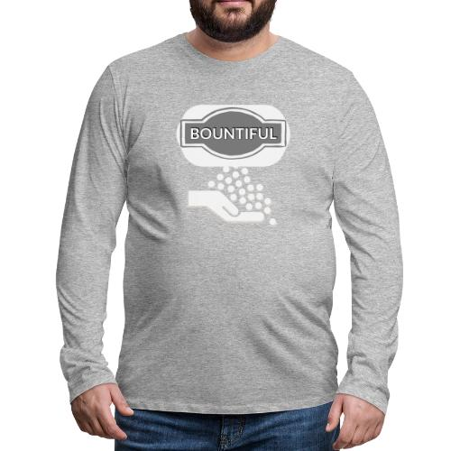 Bontiul gray white - Men's Premium Longsleeve Shirt