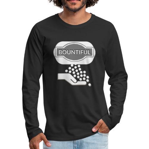 Bontiul gray white - Men's Premium Longsleeve Shirt