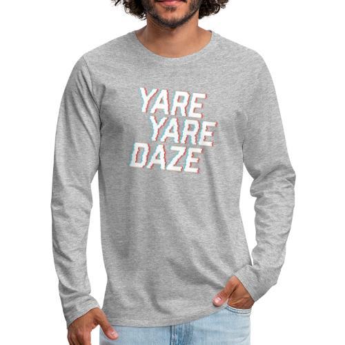 Yare Yare Daze Hoodie Jojo's Bizarre Adventure - Mannen Premium shirt met lange mouwen