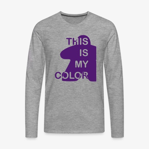 That is my Color - Premium langermet T-skjorte for menn