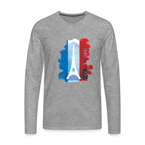 PARIS FRANCE - Men's Premium Longsleeve Shirt