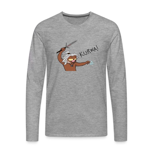 Noiduri - Miesten premium pitkähihainen t-paita
