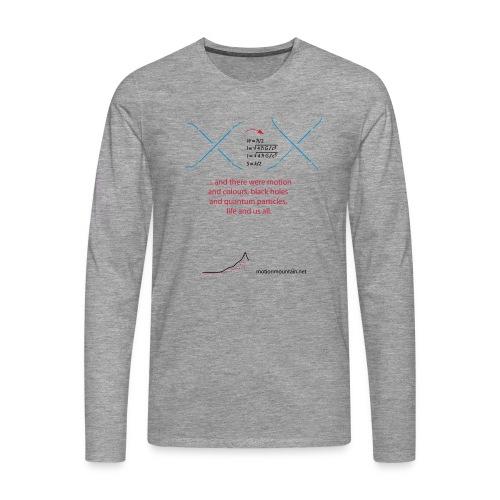 God's favorite T-shirt - Men's Premium Longsleeve Shirt