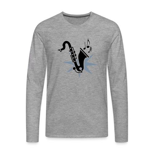 sax4 - Männer Premium Langarmshirt