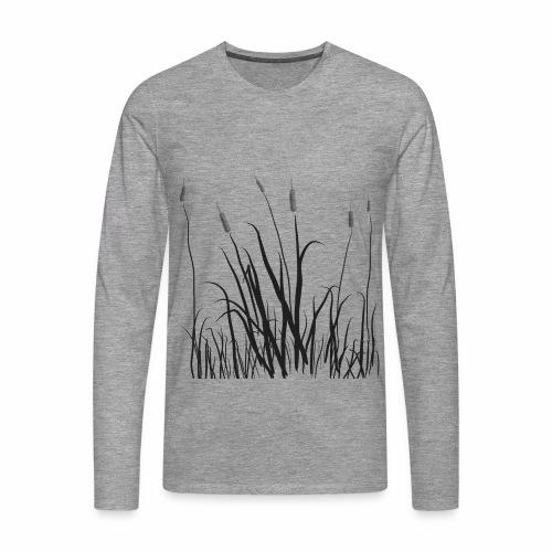 The grass is tall - Maglietta Premium a manica lunga da uomo