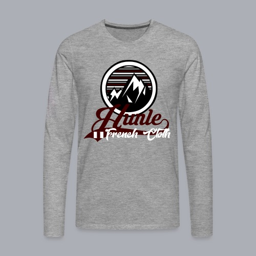 Hunle Graphic Mountain N°1 - T-shirt manches longues Premium Homme