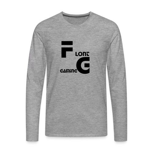 Flont Gaming merchandise - Mannen Premium shirt met lange mouwen