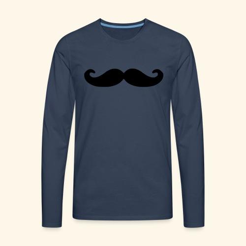 Loco Moustache - Mannen Premium shirt met lange mouwen