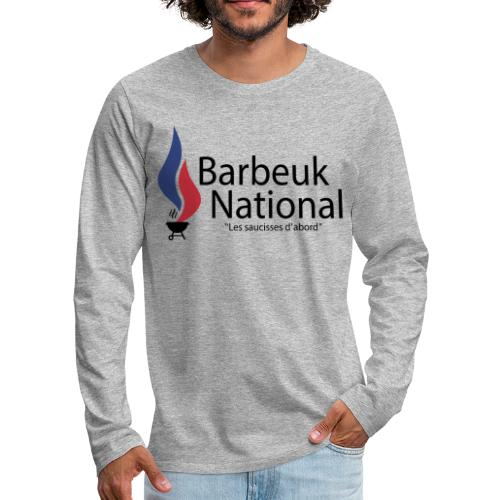BARBEUK NATIONAL - T-shirt manches longues Premium Homme