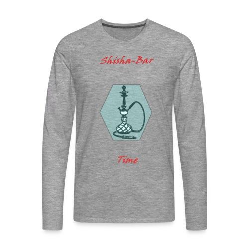 Shisha Bar Time - Men's Premium Longsleeve Shirt