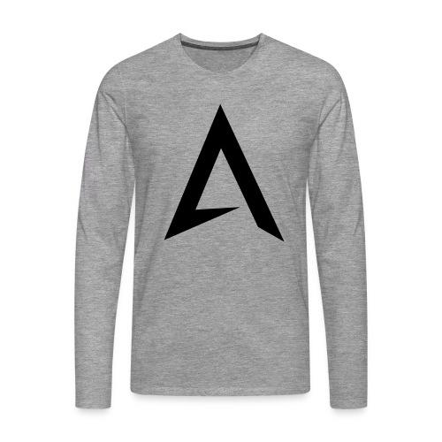 alpharock A logo - Men's Premium Longsleeve Shirt