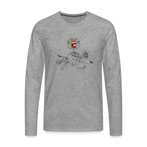 Salzburger Heimat - Männer Premium Langarmshirt