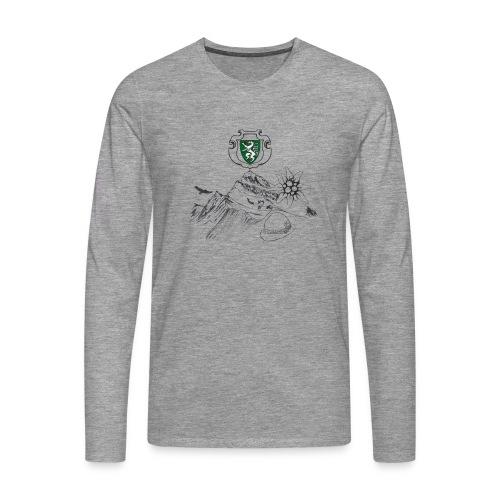 Steirische Heimat - Männer Premium Langarmshirt