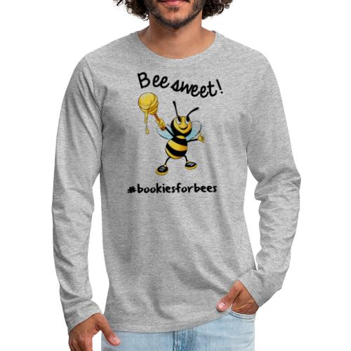 Bees7-1 Bienen sind süß | save the bees - Men's Premium Longsleeve Shirt