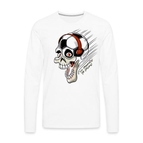FOOTBALL FREAK Game Textiles, Gifts, Products - Miesten premium pitkähihainen t-paita