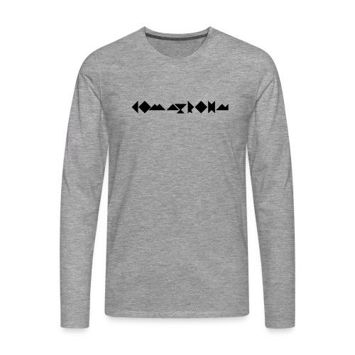 komatrohn_black - Men's Premium Longsleeve Shirt