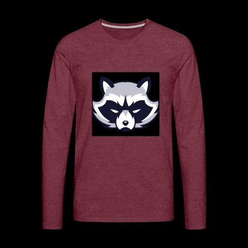 WaschbeerKopf Logo :) - Männer Premium Langarmshirt