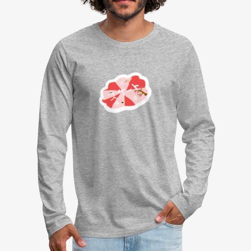 skootix japan - T-shirt manches longues Premium Homme
