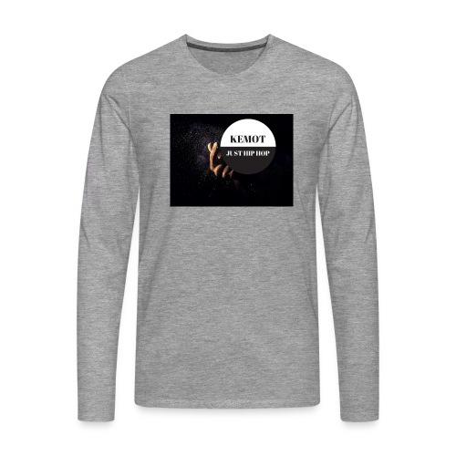 KeMoT odzież limitowana edycja - Koszulka męska Premium z długim rękawem