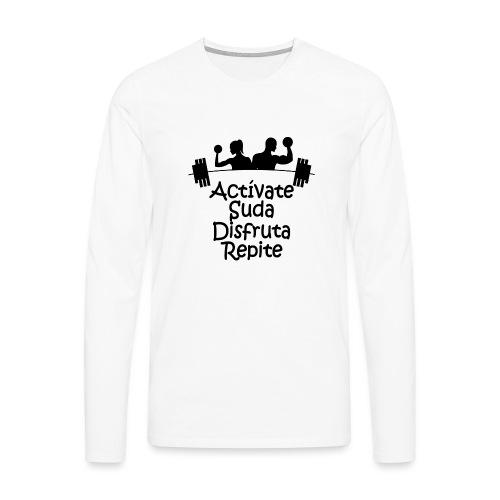 GYM - ACTÍVATE - Camiseta de manga larga premium hombre