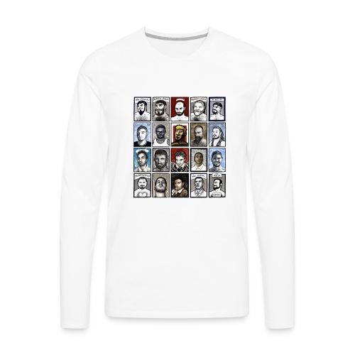 ACEO - Maglietta Premium a manica lunga da uomo