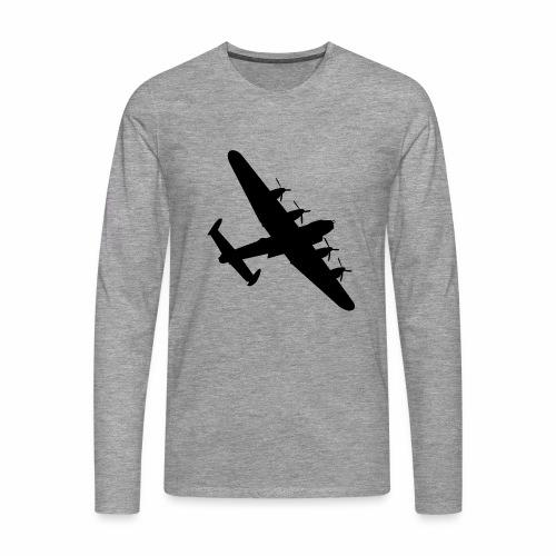 Bomber Plane - Maglietta Premium a manica lunga da uomo